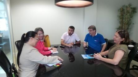 Reunião entre CAARO e Comissão de Defesa dos Direitos das Pessoas com Deficiência (CDDPD)
